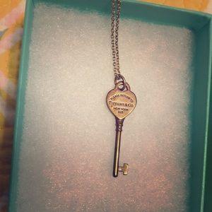 Tiffany Heart necklace in original box!!!